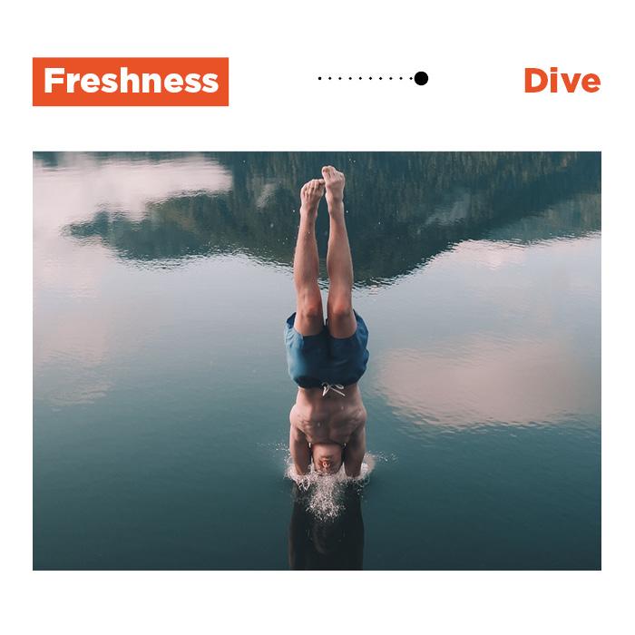 8 dive