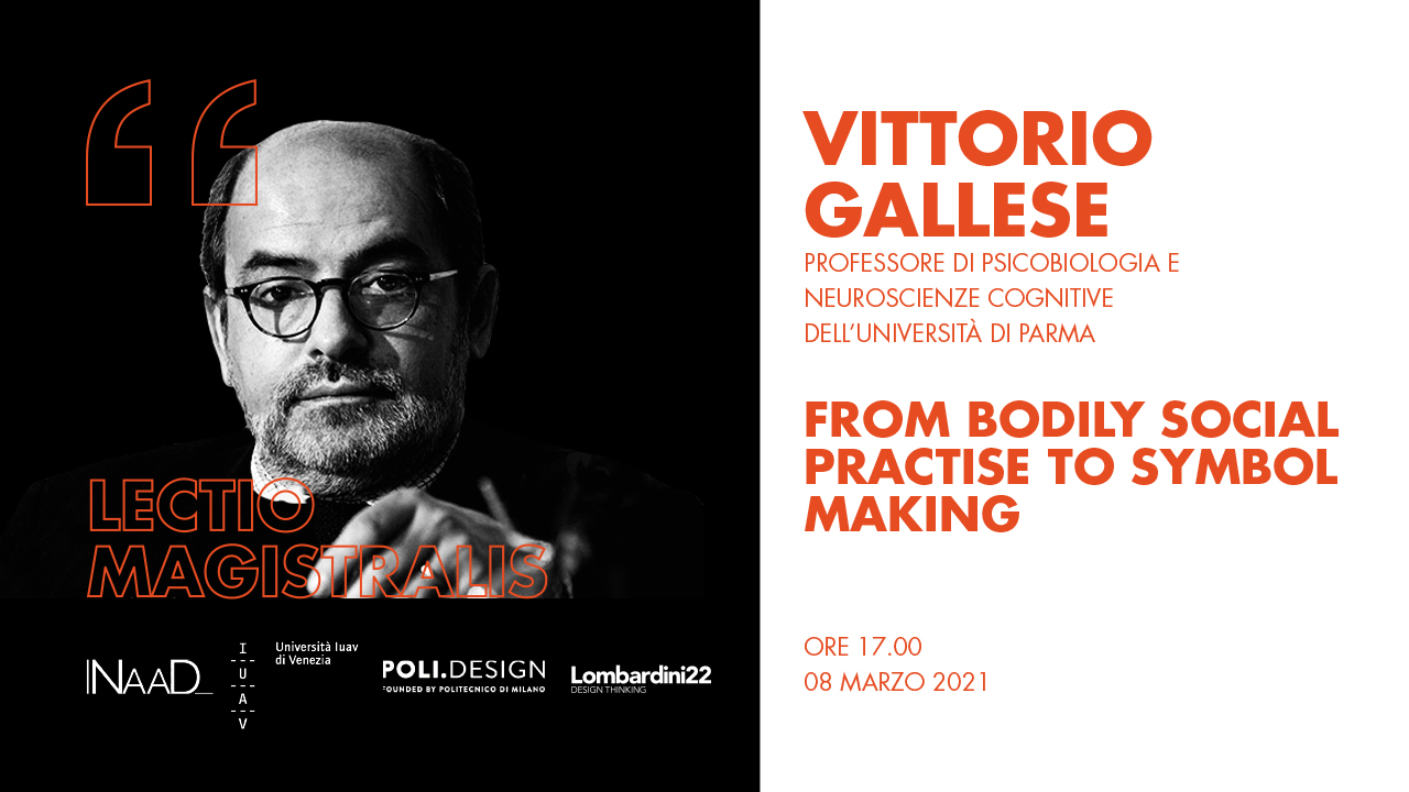 From bodily social practise to symbol making - Vittorio Gallese ln 1
